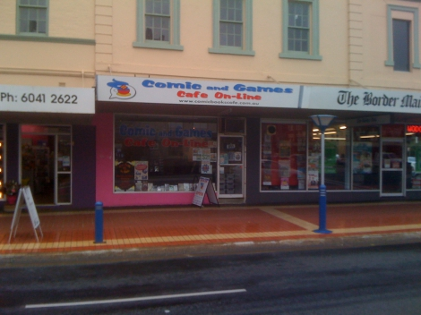 The Comic and Games Cafe in Albury